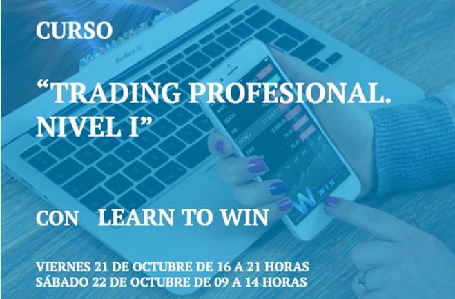 Curso Trading Profesional Nivel 1: en octubre, en el Colegio de Ingenieros de la CV
