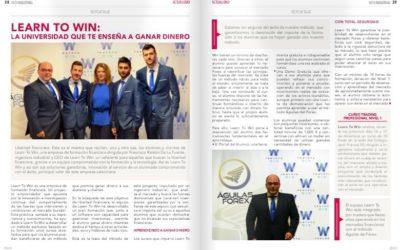 La revista Infoindustrial se hace eco de la formación de Learn to win
